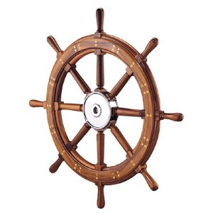 Edson sailboat steering wheel