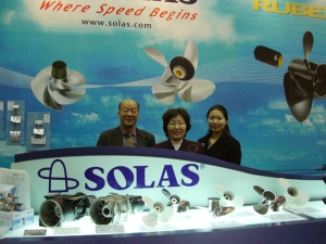 Solas Propellers in Toyko 2007