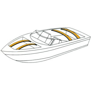 Boat Cover Bows in Fiberglass or Wood