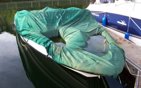 Not your boat cover