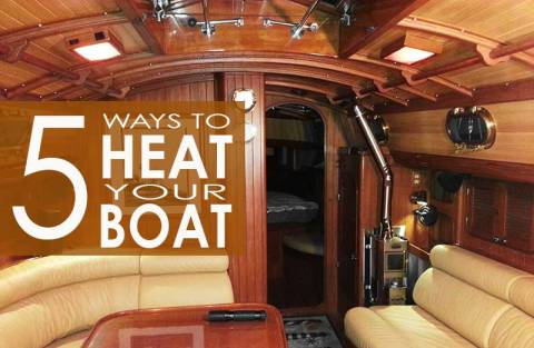 5 ways to heat your boat the boaters blog for How to heat your room